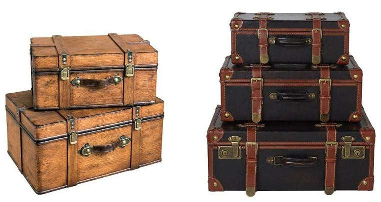 A Flair for Vintage: Old Trunks and Suitcases | The Shopbug