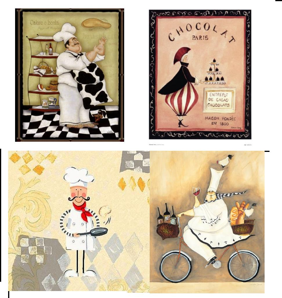 Vintage Theme Wall Art Reprints at Chef Decor | The Shopbug