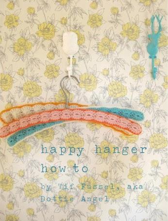 diy crochet hanger