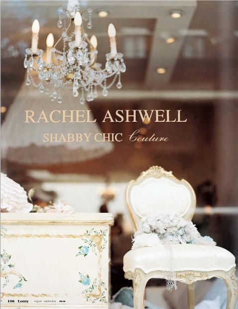 Rachel Ashwell at Lonnymag