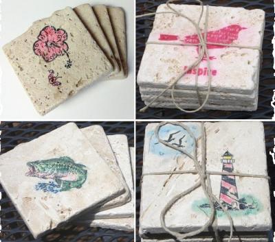 etsy handmade coasters