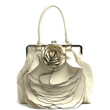 large embellished handbag