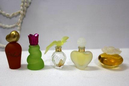 perfume jars