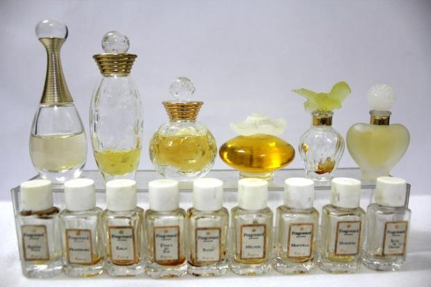 Pretty Perfume Jars