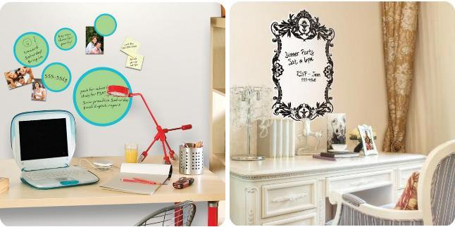 Charmant Dry Erase Wall Stickers For Work Spaces
