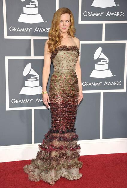 Nicole Kidman at 53rd Grammy Awards