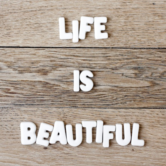 Life Is Beautiful by Magalerie
