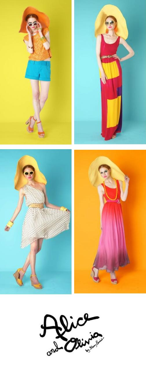 Lookbook: Alice and Olivia 2012 Resort