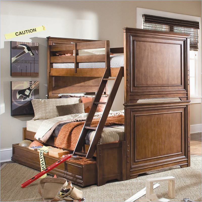 trundle bunk beds with stairs plans