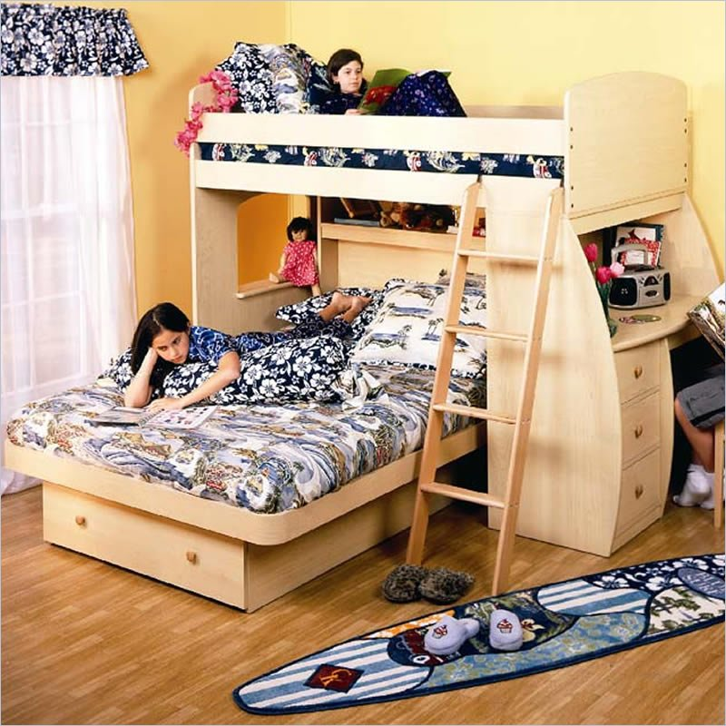 Functional decorative bunk beds the shopbug for Different type of beds