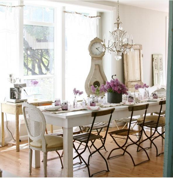Functional U0026 Decorative: Mismatched Dining Chairs