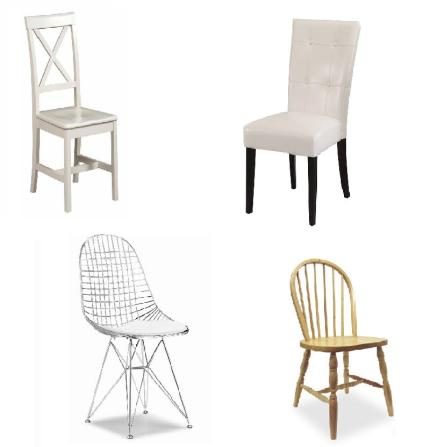 Functional Decorative Mismatched Dining Chairs The