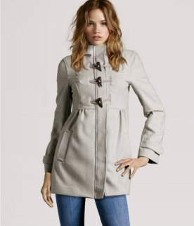 HM Hooded duffel coat