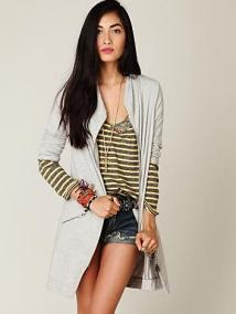 Long and Lean Ponte Jacket free people