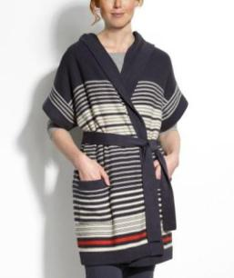 Seaside Stripe Cardigan tea collection