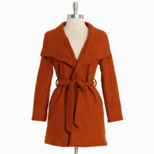 Shopruche orchard hill waist tie jacket