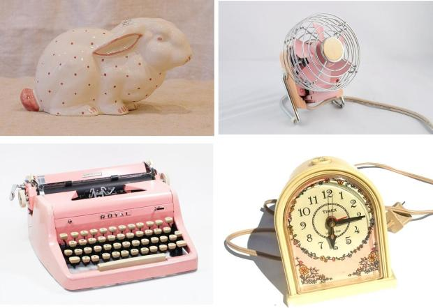 pink vintage collection