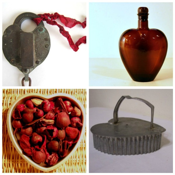 heart shaped collectibles