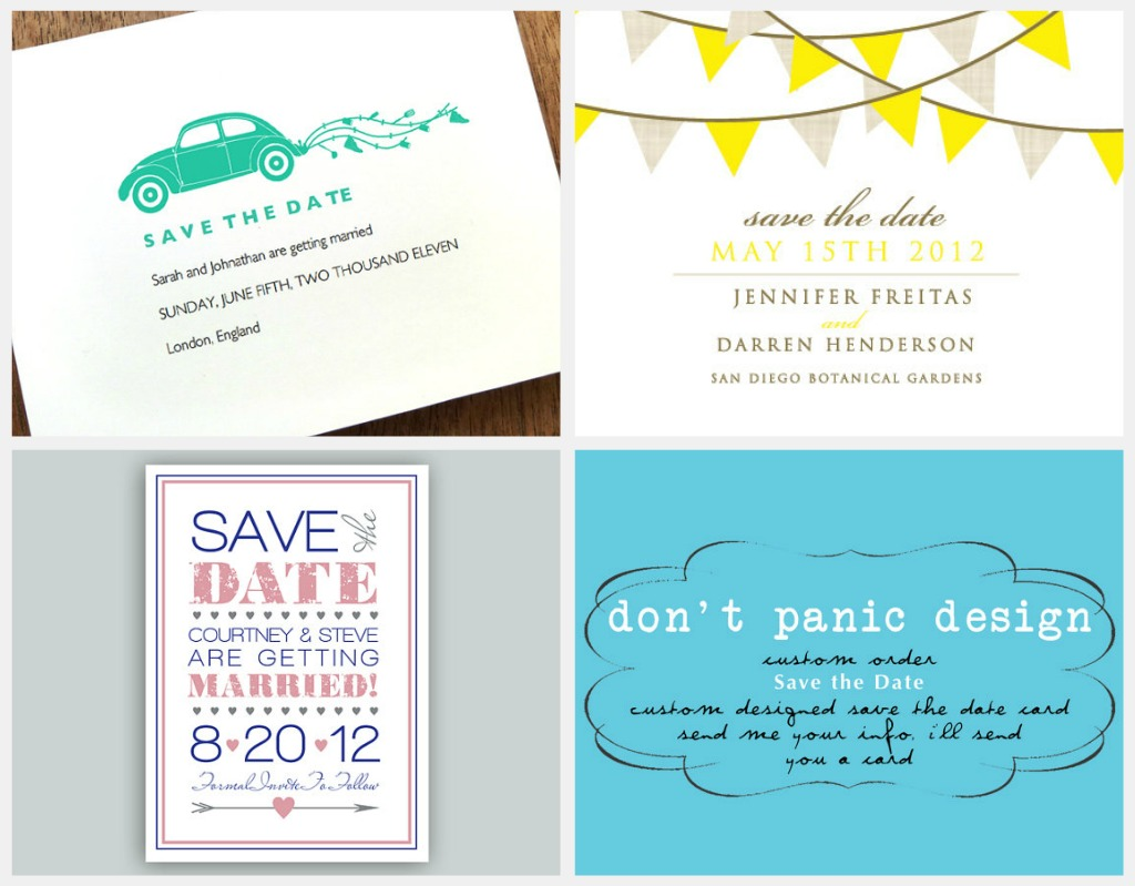 Printable Wedding Save the Date — Crafthubs