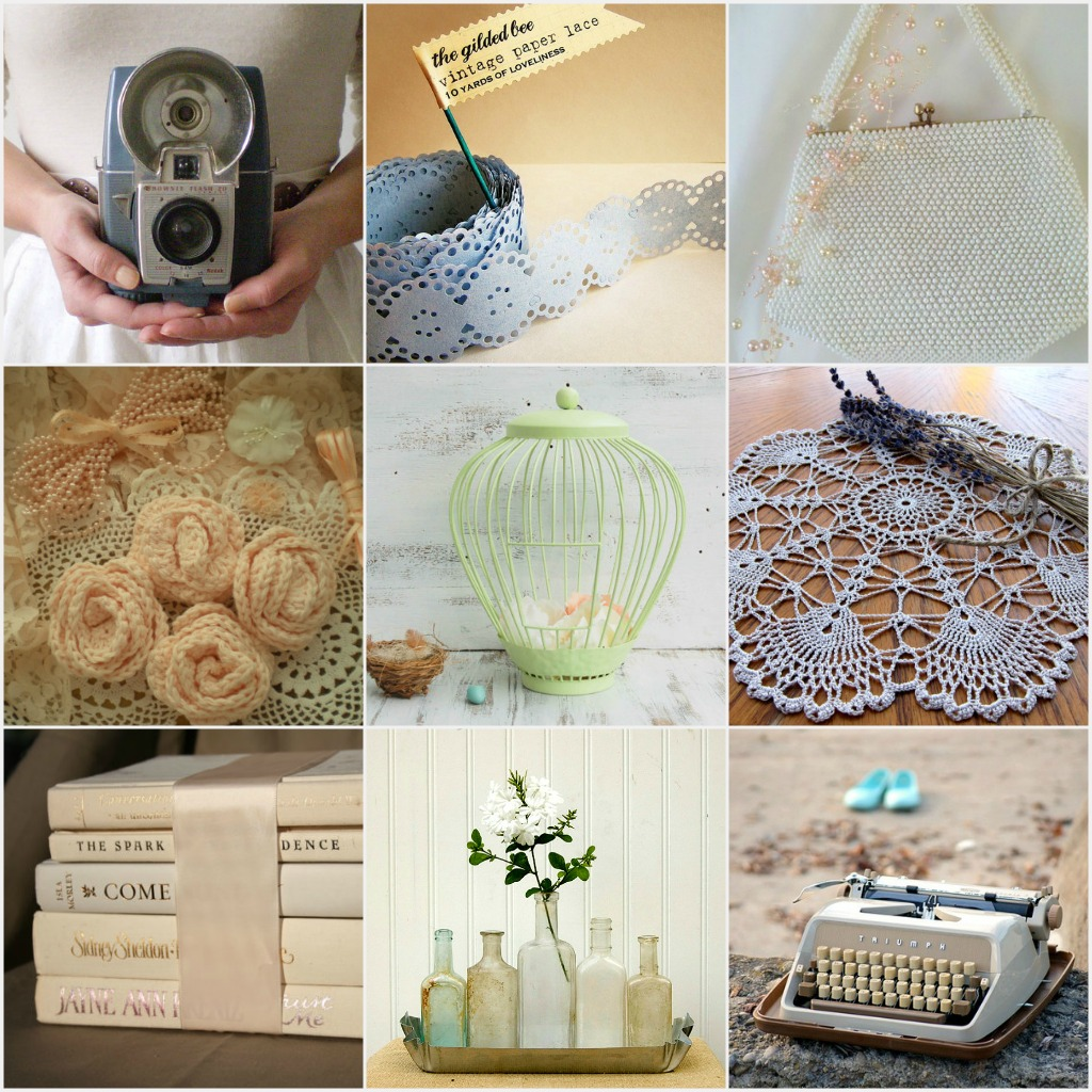 Beautiful vintage vintage wedding decor the shopbug for Retro dekoration