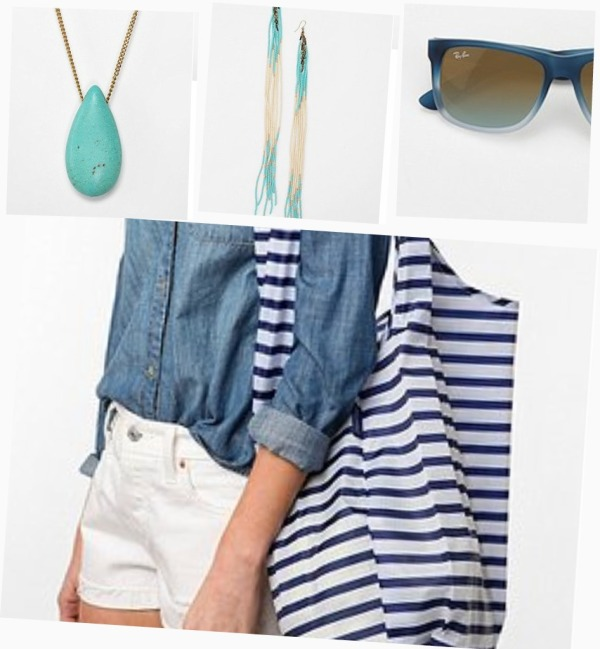 blue accessories UO
