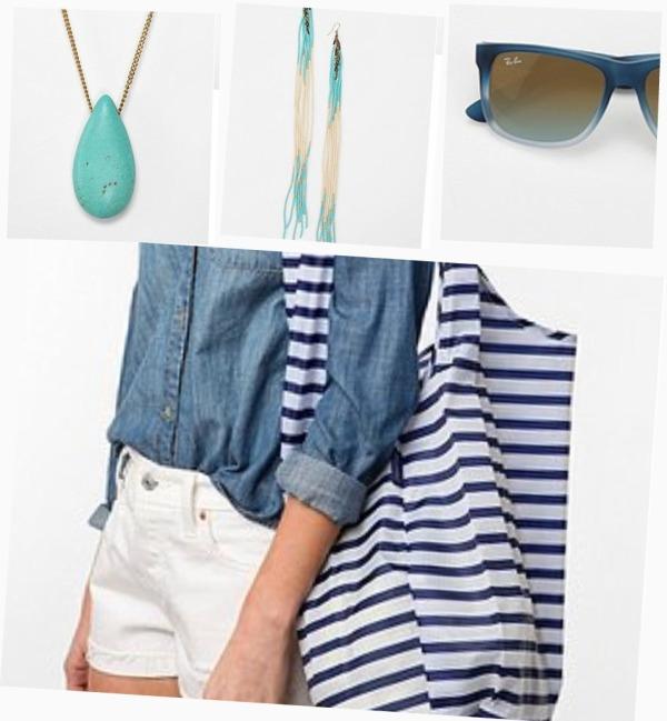 blue accessories UO