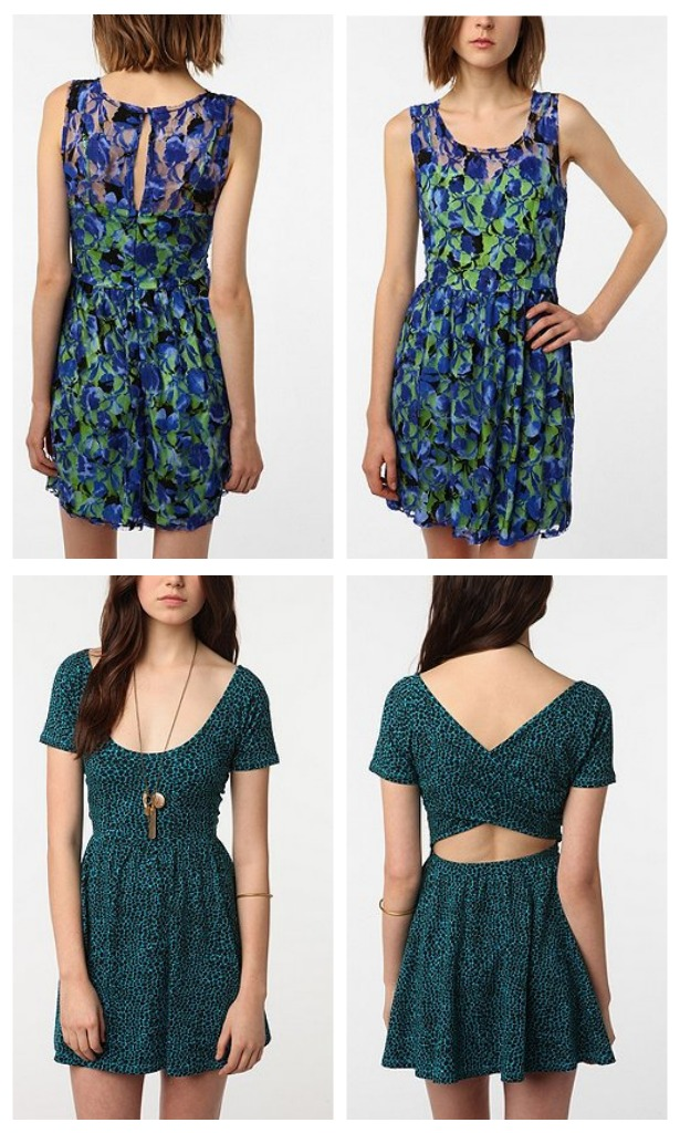 Blue summer outfits by uo the shopbug for Urban outfitters wedding dresses