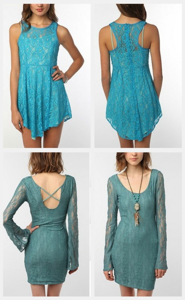 blue fashion by urban outfitters