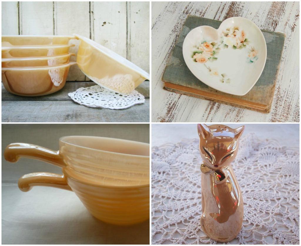 Peach kitchen ideas peach kitchen home design ideas for Peach kitchen ideas