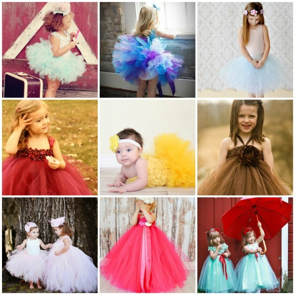 wedding tutu dress for little girls and babies